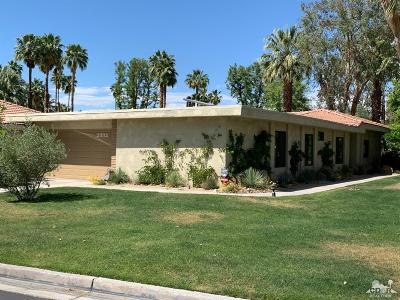 Palm Springs Condo/Townhouse For Sale: 2332 Oakcrest Drive