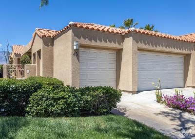 Rancho Mirage Condo/Townhouse Contingent: 43 Augusta Drive