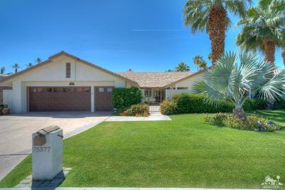 Indian Wells Single Family Home Contingent: 75377 Montecito Drive
