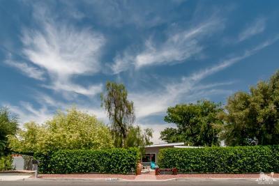 Palm Desert Single Family Home Contingent: 73298 Joshua Tree Street
