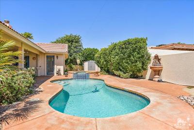 Bermuda Dunes Single Family Home Contingent: 79140 Falmouth Drive