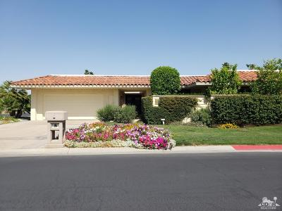 Rancho Mirage Single Family Home For Sale: 21 Cornell Drive
