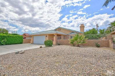 Cathedral City Single Family Home Contingent: 33855 Cathedral Canyon Drive