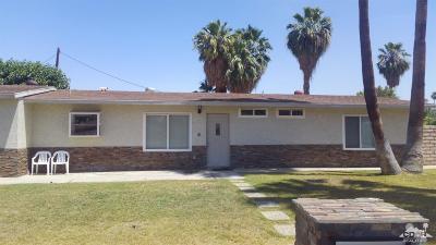 Palm Desert Single Family Home Contingent: 74110 Erin Street