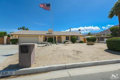 Palm Desert Single Family Home For Sale: 72831 Sierra Vista Road