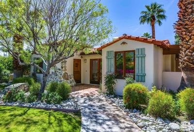 Palm Springs Single Family Home For Sale: 155 E Ocotillo Avenue