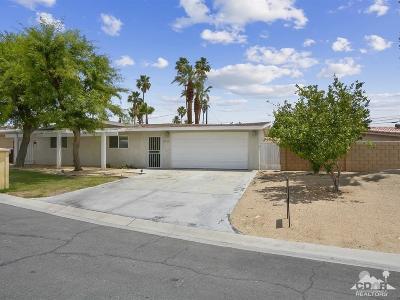Palm Desert Single Family Home For Sale: 42740 Jacqueline Circle