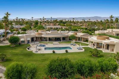 Rancho Mirage Single Family Home Contingent: 7 Strauss Terrace