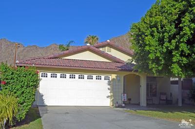 La Quinta Single Family Home For Sale: 54270 Avenida Velasco