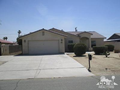 Cathedral City Single Family Home Contingent: 33310 Via De Anza