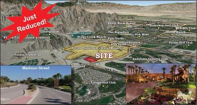 La Quinta Residential Lots & Land For Sale: 59781 Madison St Street