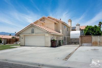 Indio Single Family Home For Sale: 43629 Hollyhock Street