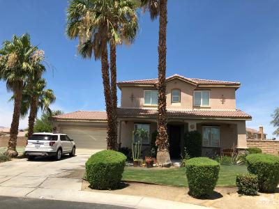 Indio Single Family Home For Sale: 40395 Firenze Court
