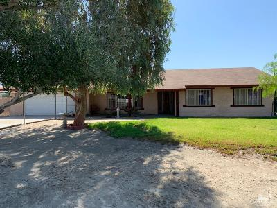 Indio Single Family Home Contingent: 38150 Rancho Los Coyotes Drive