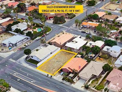La Quinta Residential Lots & Land For Sale: 53225 Eisenhower Drive