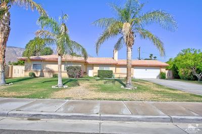 Palm Springs Single Family Home For Sale: 2633 Via Miraleste