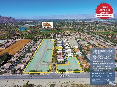 La Quinta Residential Lots & Land For Sale: 58th Avenue