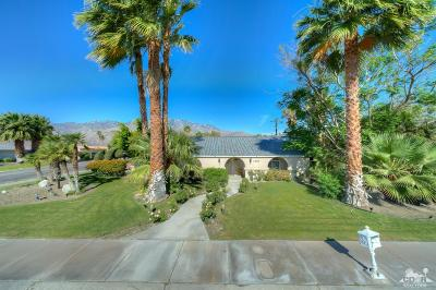 Palm Springs Single Family Home For Sale: 1807 N Whitewater Club Drive