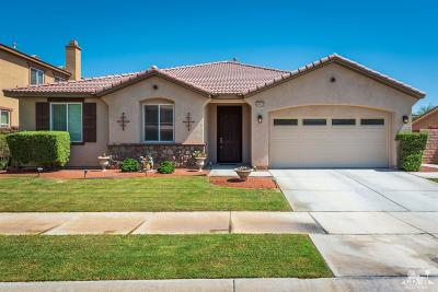 Indio Single Family Home Contingent: 84420 Onda Drive