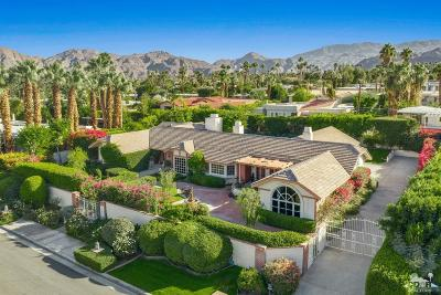 Palm Desert Single Family Home Contingent: 73073 Grapevine Street
