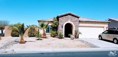 Indio Single Family Home Contingent: 40849 Broadmoor Drive