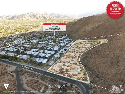Palm Springs Residential Lots & Land For Sale: W Mesquite Avenue