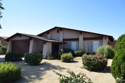 Indio Single Family Home Contingent: 81570 Santa Inez Avenue
