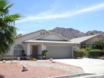La Quinta Single Family Home For Sale: 52660 Avenida Mendoza