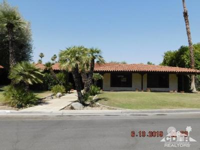 Indian Wells Single Family Home Contingent: 45655 Apache Road