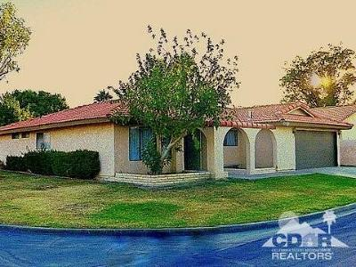 Indio Single Family Home Contingent: 82313 Gable Drive