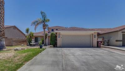 Indio Single Family Home Contingent: 81281 Begonia Court