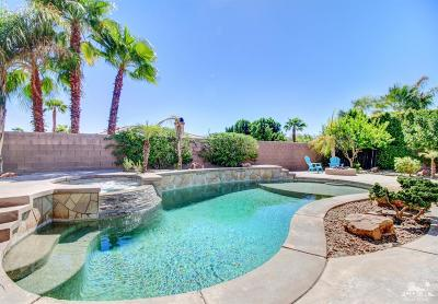 La Quinta Single Family Home Contingent: 79833 Barcelona Drive
