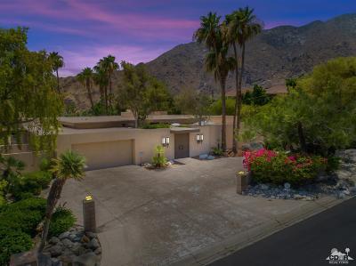 Palm Springs Single Family Home For Sale: 601 W Stevens Road