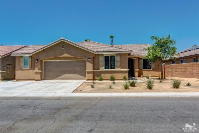 Indio Single Family Home Contingent: 43873 Aquila Street