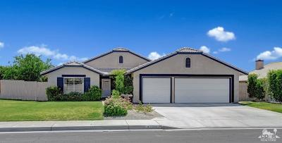 Indio Single Family Home Contingent: 47764 Pansy Street