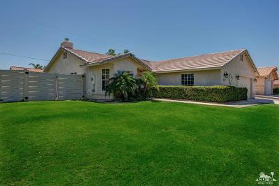 Bermuda Dunes Single Family Home Contingent: 41800 Petersfield Road