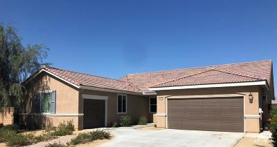 Indio Single Family Home Contingent: 43719 Pettirosso Street
