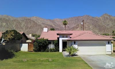 La Quinta Cove Single Family Home For Sale: 51219 Avenida Herrera