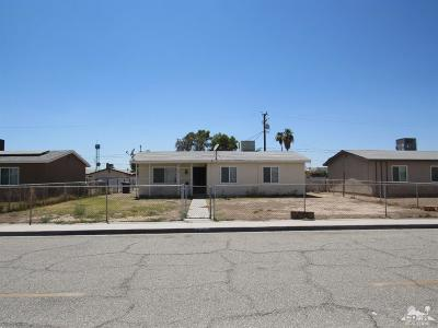 Blythe Single Family Home For Sale: 401 S 2nd Street