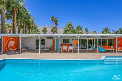 Palm Springs Single Family Home Contingent: 226 N Burton Way