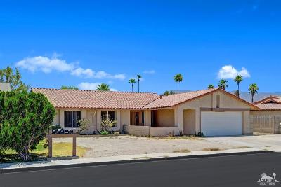 Indio Single Family Home For Sale: 82165 W Heilo Court