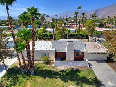Palm Springs Single Family Home For Sale: 1101 E El Escudero