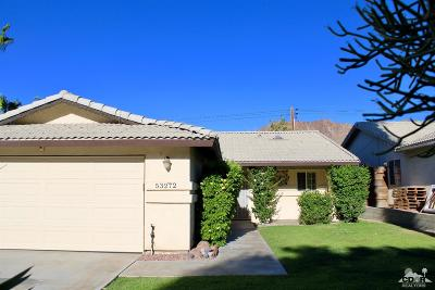 La Quinta Single Family Home For Sale: 53272 Avenida Vallejo