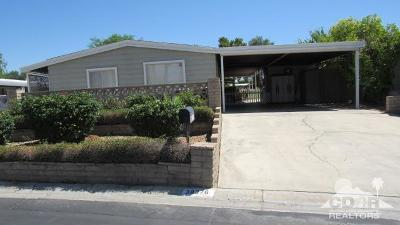 Palm Desert Greens Mobile Home For Sale: 38376 Poppet Canyon Drive