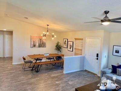 Indio Single Family Home Contingent: 81113 Pindo Drive