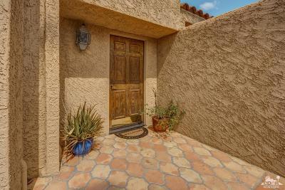 Palm Desert Condo/Townhouse Sold: 73420 Irontree Drive