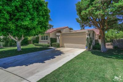 Rancho Mirage Single Family Home Contingent: 38 Santo Domingo Drive