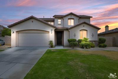 Indio Single Family Home For Sale: 40320 La Spezia Court