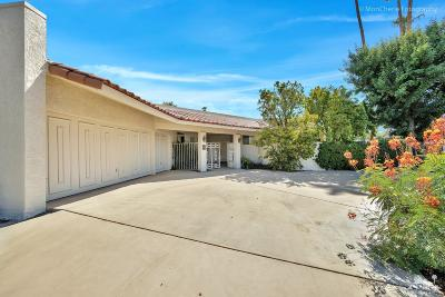 Rancho Mirage Single Family Home For Sale: 3 Clemson Street