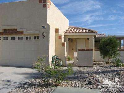 Blythe Single Family Home For Sale: 2605 W Fairway Drive